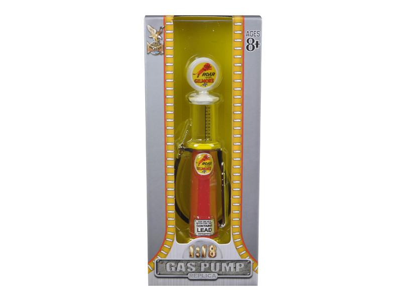 Roar Gilmore Gasoline Vintage Gas Pump Cylinder 1/18 Diecast Replica Road Signature 98732