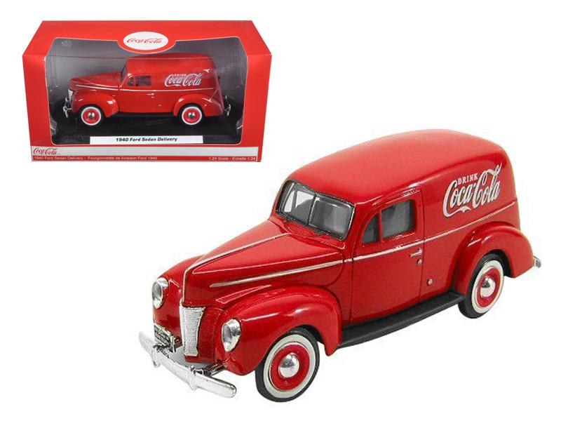 1940 Ford Sedan Delivery Coca Cola Truck 1/24 Diecast Car Model by Motor City Classics