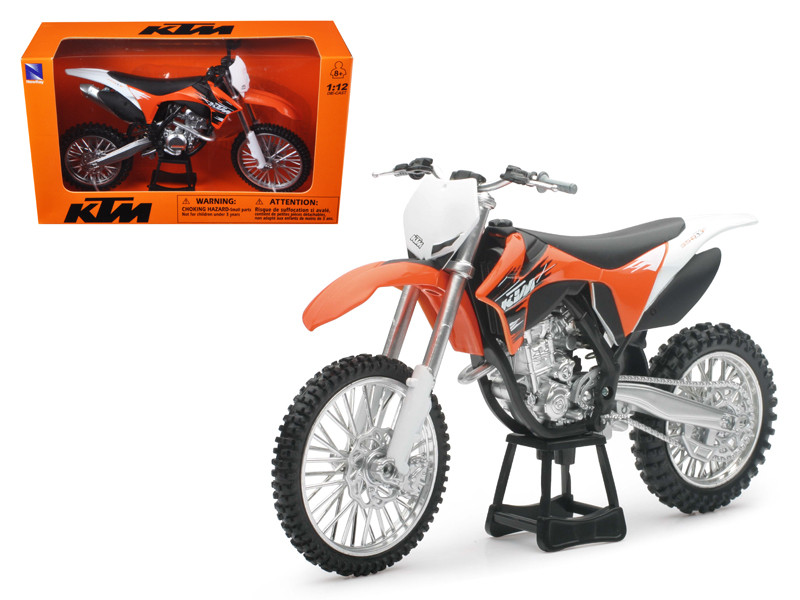2011 KTM 350 SX-F Orange Dirt Bike Motorcycle 1/12 by New Ray