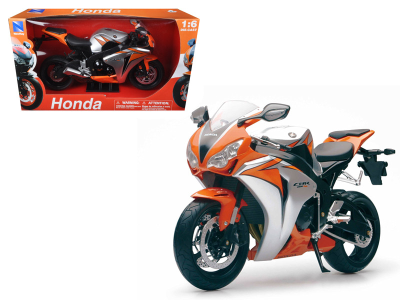 2010 Honda CBR 1000RR Motorcycle 1/6 Diecast Model New Ray 49293