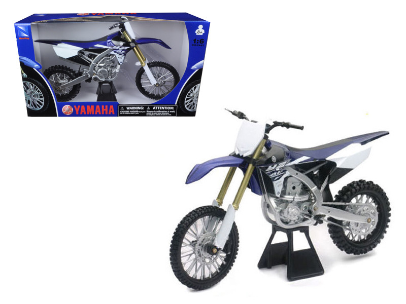 2015 Yamaha YZ450F 1/6 Motorcycle Model New Ray 49443