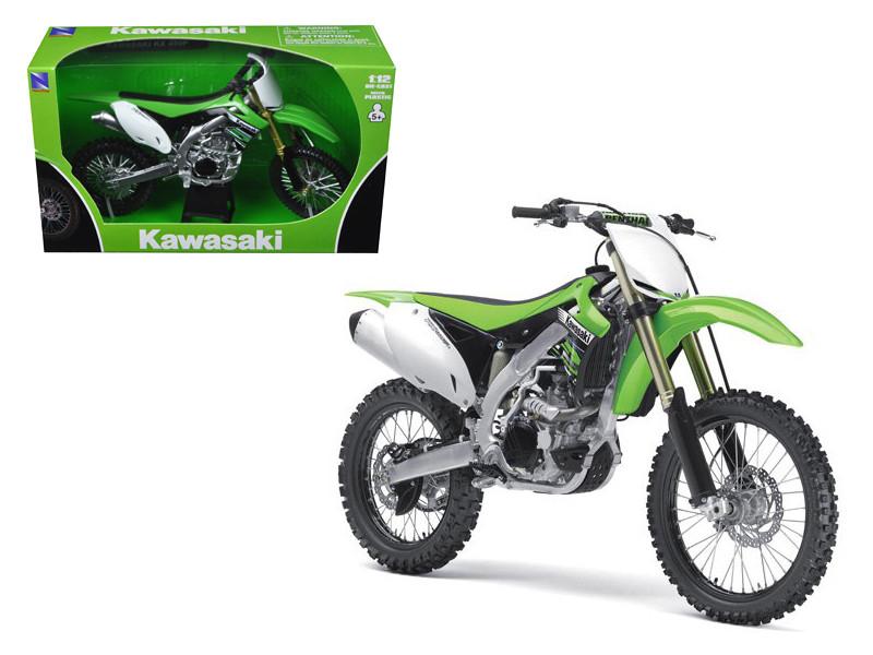 2012 Kawasaki KX 450F Dirt Bike Motorcycle 1/12 Model New Ray NR57483