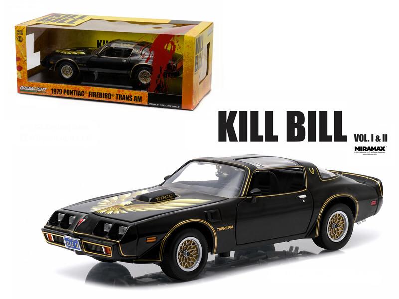 """1979 Pontiac Firebird Trans Am """"Kill Bill Vol. 2"""" Movie (2004) 1/18 Diecast Model Car Greenlight 12951"""