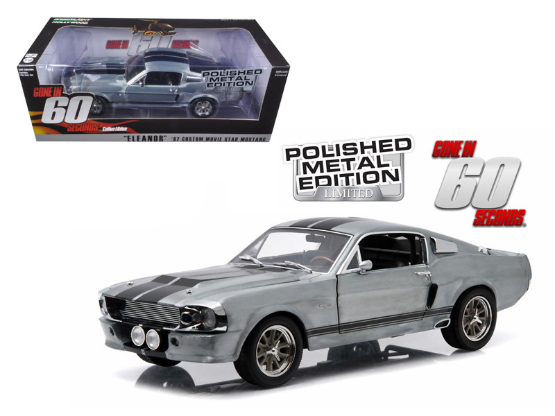 1967 Ford Mustang  Eleanor  Gone in 60 Seconds Movie (2000) Polished Metal  sc 1 st  Diecastdropshipper & Diecast Model Cars wholesale toys dropshipper drop shipping 1967 ... markmcfarlin.com