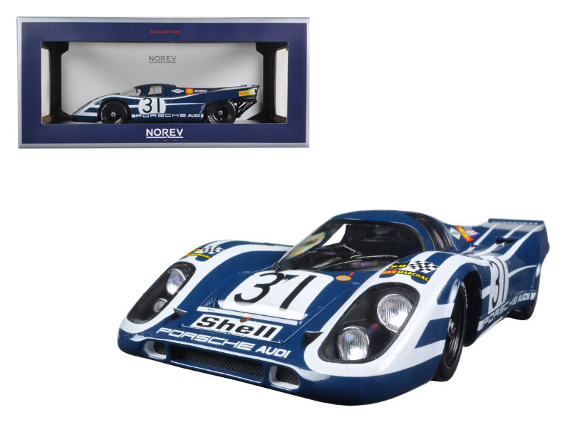 1970 Porsche 917K 6H #31 Watkins Glen Elford/Hulme 1/18 Diecast Model Car by Norev
