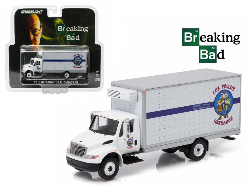2013 International Durastar Dos Pollos Hermanos Delivery Truck Breaking Bad 2008-2013 TV Series 1/64 Greenlight 29864