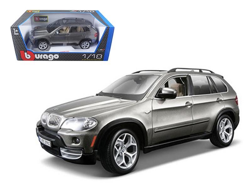 BMW X5 Grey 1/18 Diecast Model Car Bburago 12076