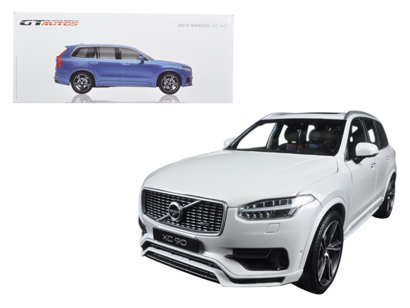 2015 Volvo XC 90 White 1/18 Diecast Model Car GT Autos by Welly