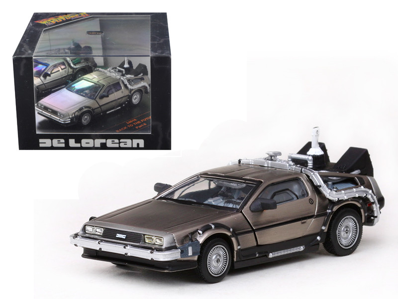 De Lorean Back To The Future Part 2 1/43 Diecast Car Model by Vitesse