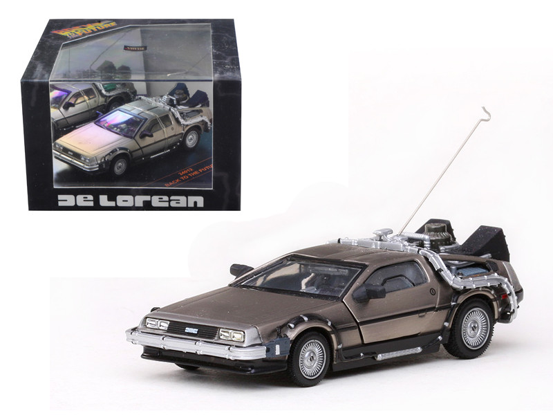 De Lorean Back To The Future Part 1 1/43 Diecast Car Model by Vitesse