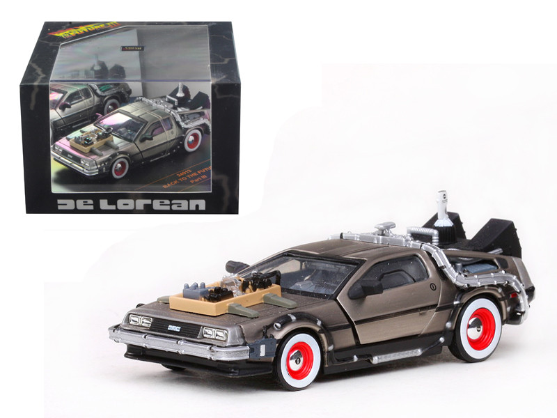 De Lorean Back To The Future Part 3 1/43 Diecast Car Model Vitesse 24013