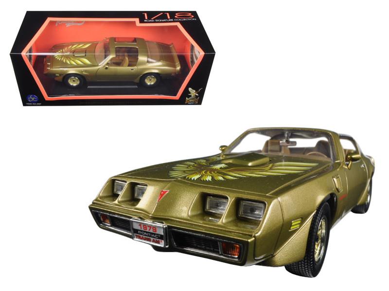 1979 Pontiac Firebird Trans Am Gold 1/18 Diecast Model Car Road Signature 92378