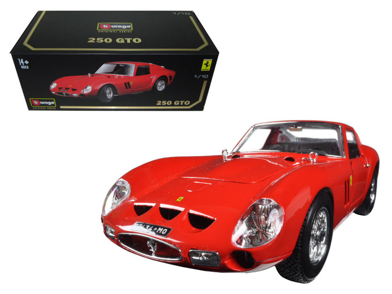 Ferrari 250 GTO Red Signature Series 1/18 Diecast Model Car Bburago 16602