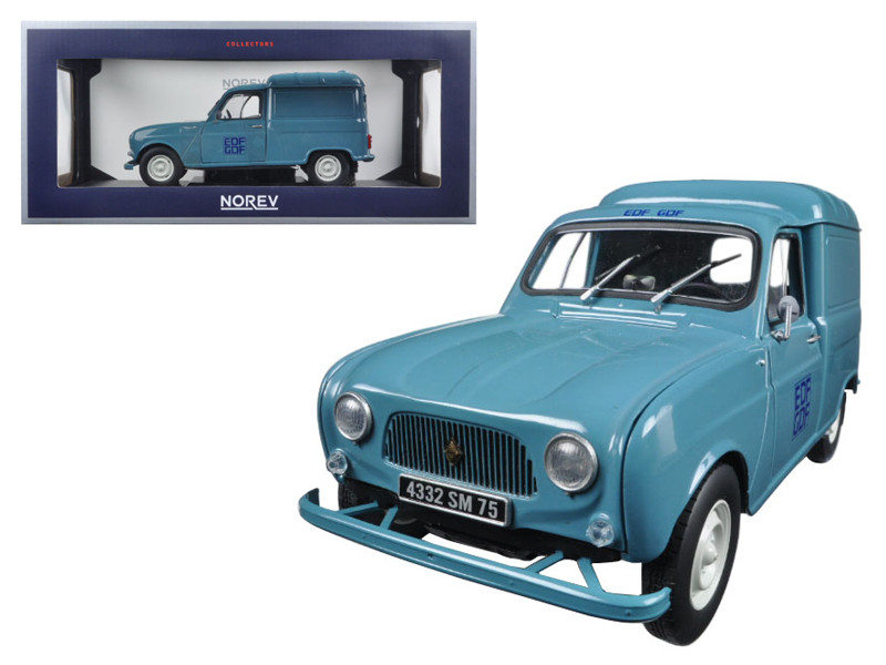 1965 Renault Fourgonette 4 F4 EDF-GDF 1/18 Diecast Model Car by Norev