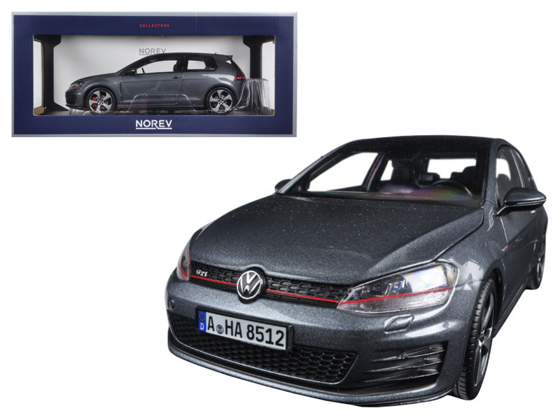 2014 Volkswagen Golf GTI Grey Metallic 1/18 Diecast Model Car Norev 188518