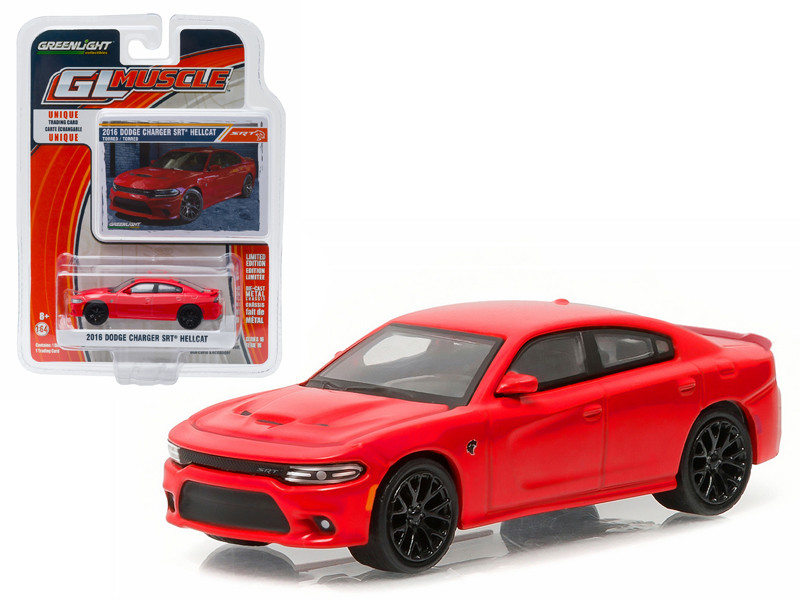2016 Dodge Charger Hellcat Torred 1/64 Diecast Model Car Greenlight 13160 F