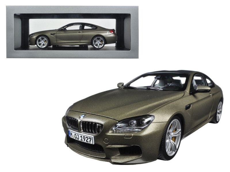 Delicieux BMW M6 F13M Coupe Frozen Bronze 1/18 Diecast Model Car Paragon 97053