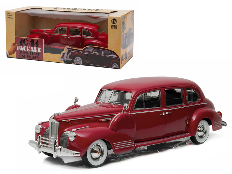 1941 Packard Super Eight One-Eighty Laguna Maroon 1/18 Diecast Model Car Greenlight 12971