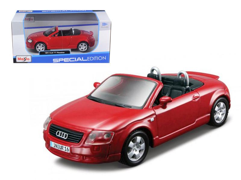 Audi TT Roadster Red 1/24 Diecast Car Model Maisto 31978