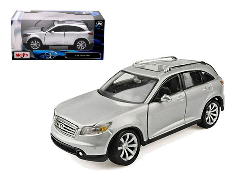 Infiniti FX45 Silver 1/24 Diecast Model Car by Maisto
