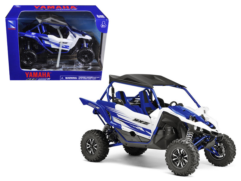 Yamaha YXZ 1000R Triple Cylinder Blue Buggy 1/18 Diecast Model New Ray 57813 A