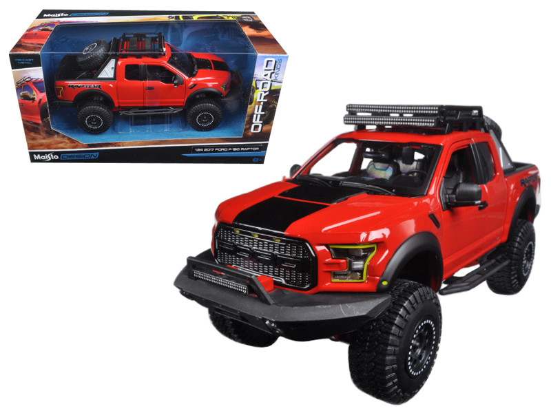 Cast Model Cars Wholesale Toys Dropshipper Drop Shipping  Ford F  Raptor Pickup Truck Red Off Road Kings   Drop Shipping Wholesale