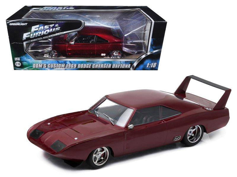 1969 doms dodge charger daytona custom fast furious 6 movie 2013 - Dodge Charger 1969 Fast And Furious 6