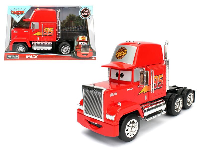 """Disney Pixar Mack Trailer \Cars\"""" Movie 1/24 Diecast Model by Jada"""""""""""""""