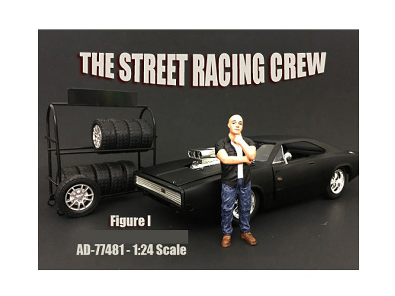The Street Racing Crew Figure I For 1:24 Scale Models American Diorama 77481
