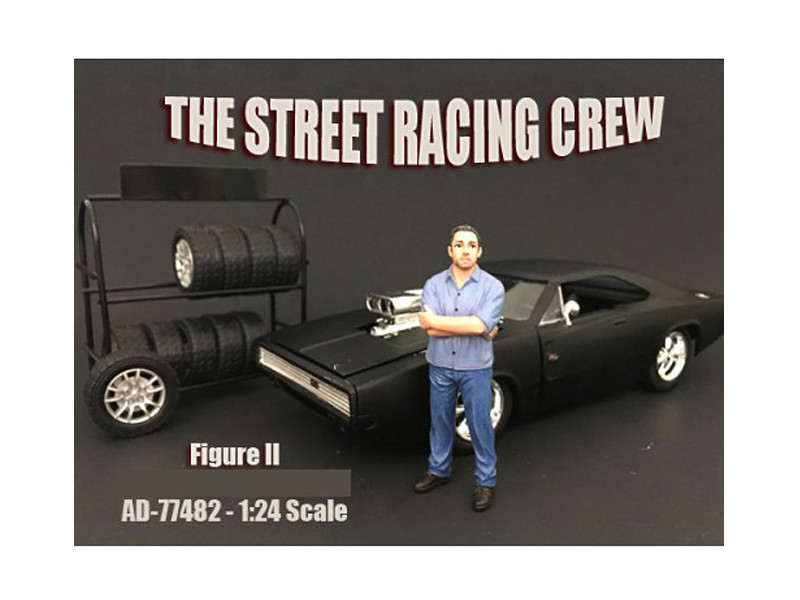 The Street Racing Crew Figure II For 1:24 Scale Models American Diorama 77482
