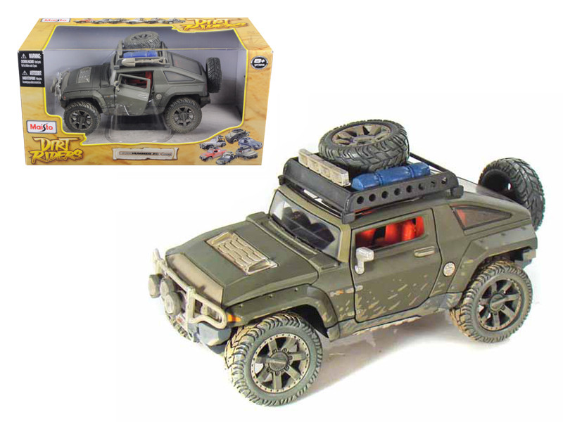 "2008 Hummer HX Concept Dirty Version \Dirt Riders"" 1/24 Diecast Model Car by Maisto"""""""
