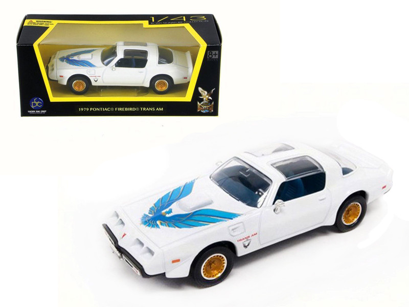 1979 Pontiac Firebird Trans Am White 1/43 Diecast Model
