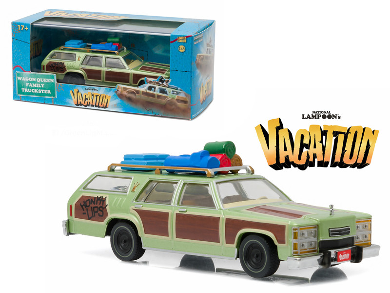 1979 Family Truckster Wagon Queen Honky Lips Version National Lampoon's Vacation Movie 1983 1/43 Diecast Model Car Greenlight 86482