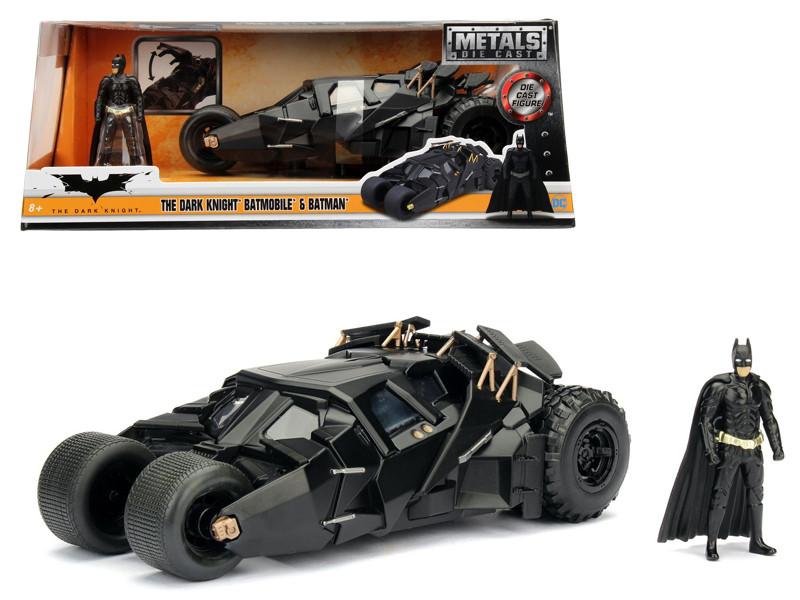 2008 The Dark Knight Tumbler with diecast Batman Figure 1/24 Diecast Model Car Jada 98261