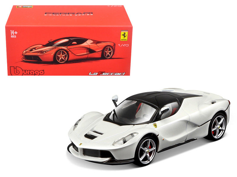 Ferrari Laferrari White Signature Series 1/43 Diecast Model Car Bburago 36902