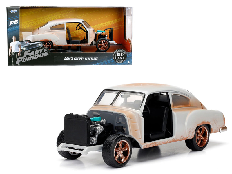 Dom's Chevrolet Fleetline Fast & Furious F8 Movie 1/24 Diecast Model Car Jada 98294