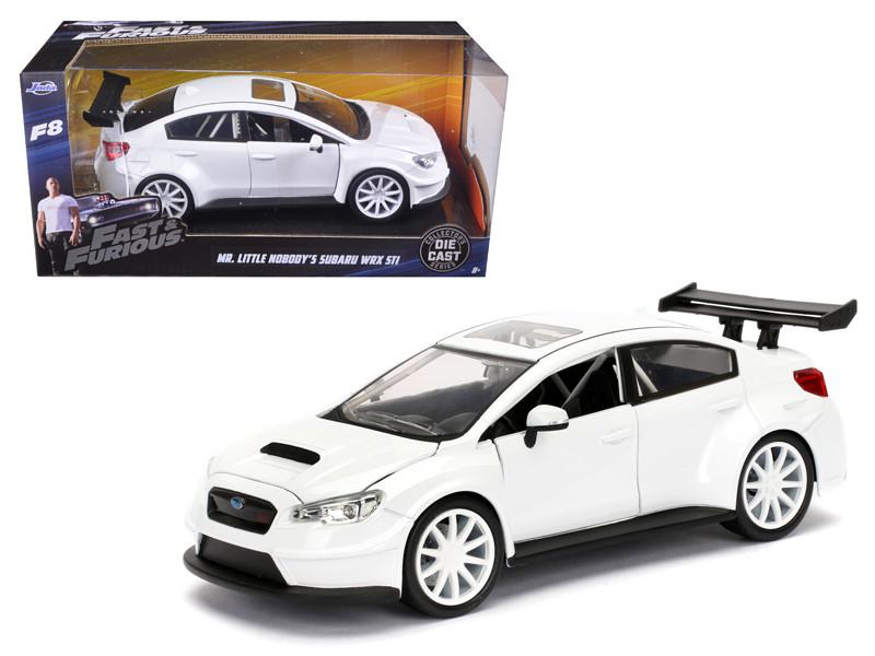 Mr Little Nobody's Subaru WRX STI Fast & Furious F8 Movie 1/24 Diecast Model Car Jada 98296