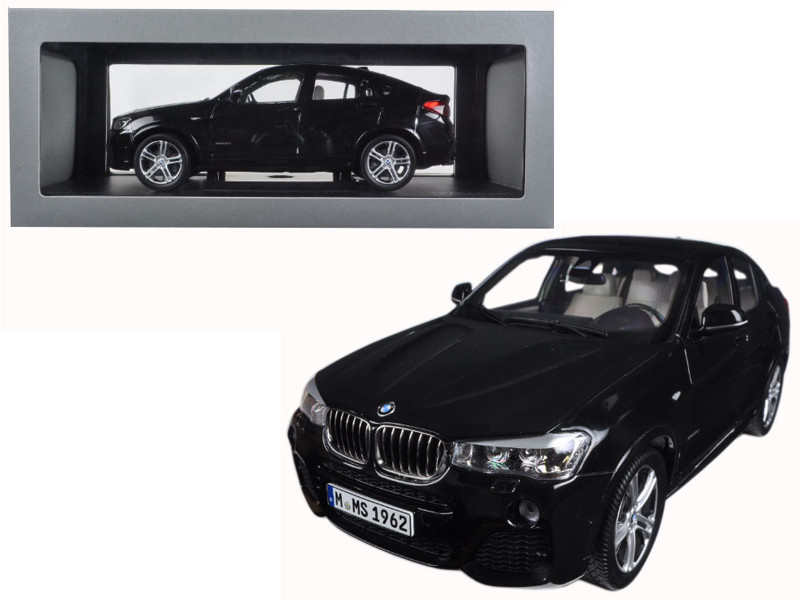 BMW X4 F26 Sapphire Black 1/18 Diecast Model Car Paragon 97094