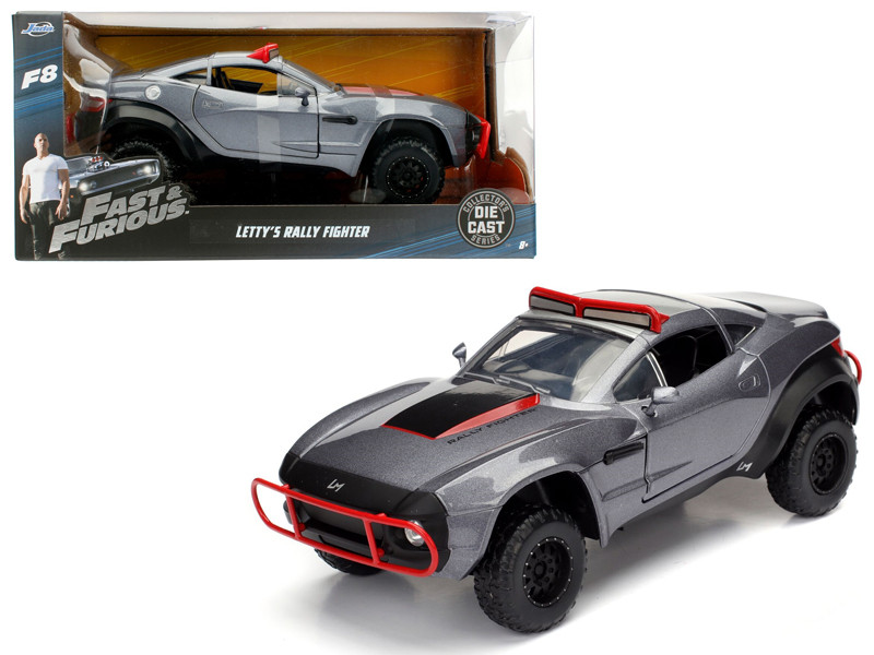 Letty's Rally Fighter Fast & Furious F8 The Fate of the Furious Movie 1/24 Diecast Model Car Jada 98297