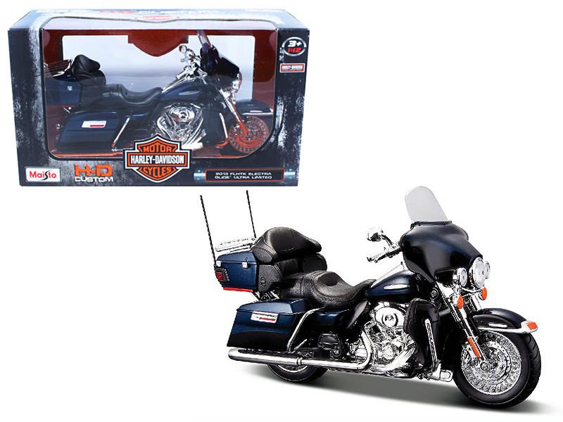 2013 Harley Davidson FLHTK Electra Glide Limited 1/12 Motorcycle Model by Maisto