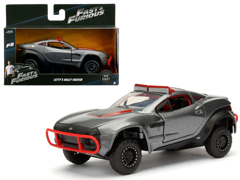 Letty's Rally Fighter Fast & Furious F8 The Fate of the Furious Movie 1/32 Diecast Model Car Jada 98302