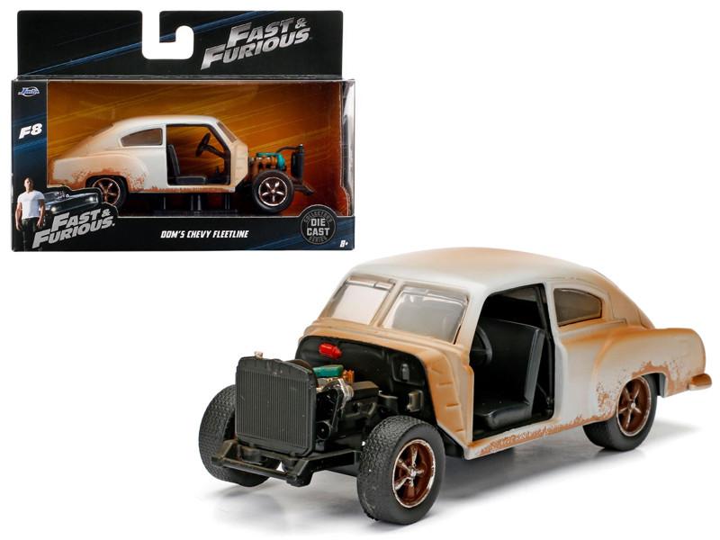Dom's Chevrolet Fleetline Fast & Furious F8 The Fate of the Furious Movie 1/32 Diecast Model Car Jada 98303