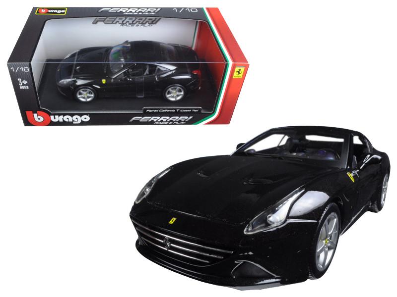 Ferrari California T (closed top) Black 1/18 Diecast Model Car by Bburago
