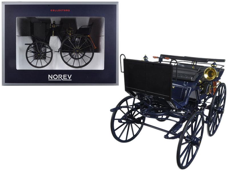 1886 Daimler Motorkutsche 1/18 Diecast Car Model by Norev