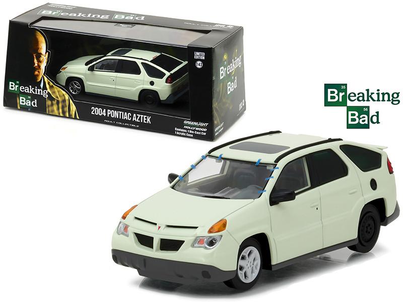 Walter White's 2004 Pontiac Aztek Breaking Bad 2008-2013 TV Series 1/43 Diecast Model Car Greenlight 86498