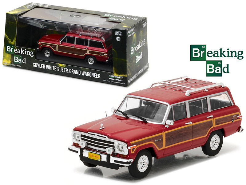 Skyler White's Jeep Wagoneer Breaking Bad 2008-2013 TV Series 1/43 Diecast Model Car Greenlight 86499