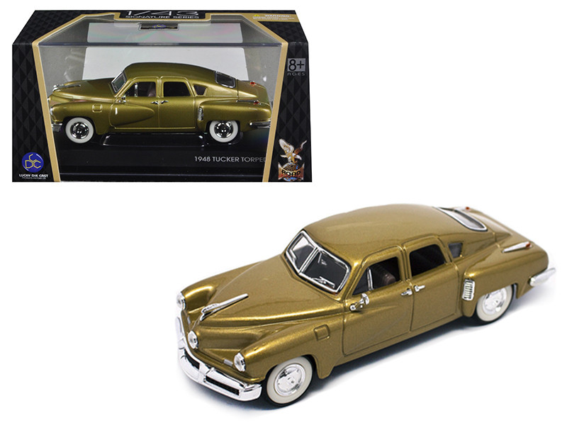 1948 Tucker Gold Signature Series 1/43 Diecast Model Car Road Signature 43201