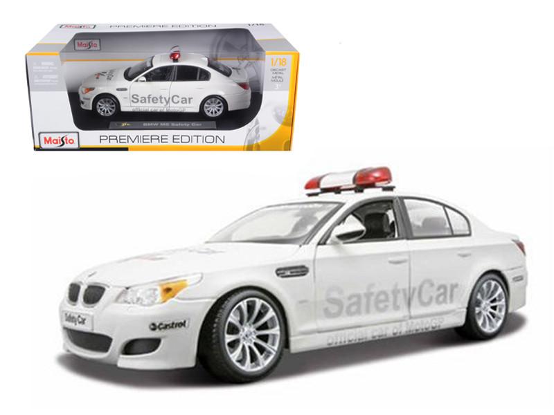 2007 BMW M5 E60 Moto GP Safety Car 1/18 Diecast Model Car by Maisto