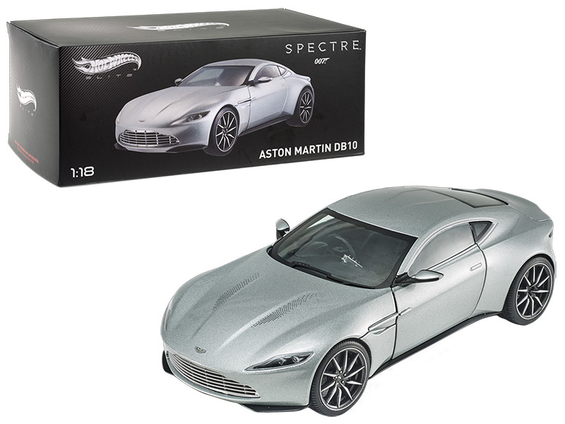 Elite Edition Aston Martin DB10 James Bond 007 From Spectre Movie 1/18 Diecast Model Car Hotwheels CMC94