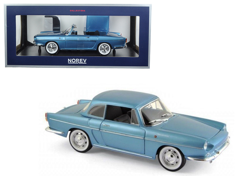 1964 Renault Caravelle Finlande Blue Metallic 1/18 Diecast Model Car Norev 185151